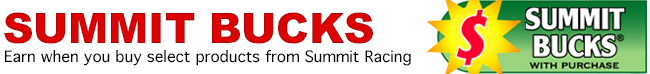 View all COMP Cams Summit Bucks offers!